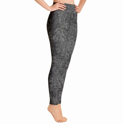 Tallulah High Waist Leggings - Grey