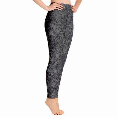 Miki High Waist Leggings - Grey